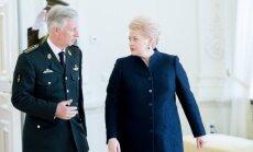 Belgų karalius Filipas ir Dalia Grybauskaitė