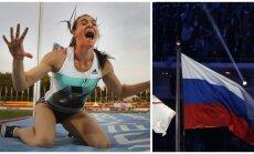 Jelena Isinbajeva (AFP, REUTERS-Scanpix nuotr.)