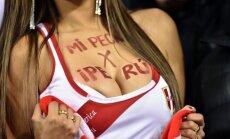 Karščiausia Peru futbolo rinktinės sirgalė