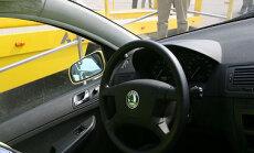 Saugos diržų efektyvumo demonstratorius