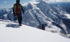 Tian Shan mountains in Kyrgyzstan