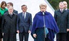 Vytautas Landsbergis, Viktoras Pranckietis, Dalia Grybauskaitė, Saulius Skvernelis