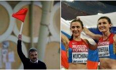 Dopingo liūne nugrimzdusi Rusijos rinktinė nedalyvaus Rio de Žaneiro olimpinėse žaidynėse