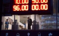 Rusijos rublio kursas