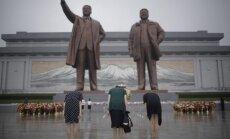 Šiaurės Korėja mini Pergalės dieną