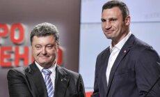 Ukrainoje pergalė žadama P. Porošenkai