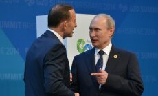 Tony Abbottas, Vladimiras Putinas