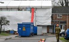 """Solsberyje esantis Skripalio namas išvalytas nuo """"Novičiok"""" pėdsakų"""
