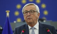 The European Commission's President Jean-Claude Juncker at the annual address to the European Union