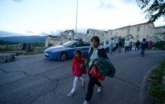 В центральной Италии снова зафиксированы подземные толчки