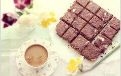 Skanusis šokolado ir varškės pyragas