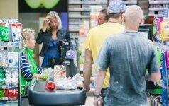 Из кассы магазина IKI двое молодых людей украли 420 евро