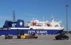 DFDS привлекла более крупный паром для перевозки российских фур из Литвы