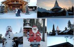 Unikali lietuvių šeimos patirtis: į Laplandiją važiavo automobiliu FOTO