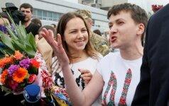 Надежда Савченко в Киеве: герои Украины не должны умирать