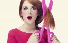 Didžiausios plaukų priežiūros klaidos