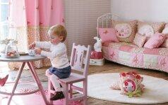 Idėjos, kaip originaliai įrengti vaiko kambarį >50 nuotraukų