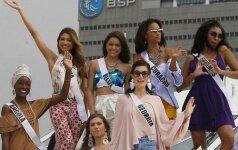 ФОТО: Красавицы мира съехались на конкурс Мисс Вселенная
