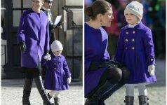 Princesės sulaukė komplimentų dėl rūbų (FOTO)
