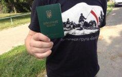 Украина выдает белорусским добровольцам военные билеты