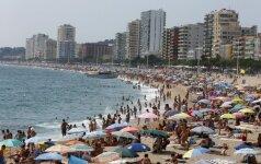 Литовские туристы в прошлом году потратили за рубежом около 900 млн. евро