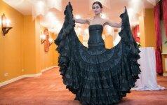 Kiek kainuoja suknelė rekordininkė?