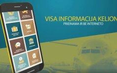 МИД Литвы представил мобильное приложение для путешественников