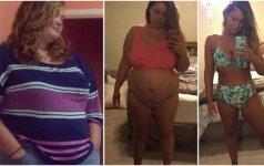 Apie tai, ką padarė ši dviejų vaikų mama, svajoja daug moterų po gimdymo