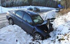 В ДТП у Snow Arenа в Друскининкай пострадала женщина