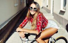 Kiek kalorijų pavyktų sudeginti nuolatos važinėjant dviračiu