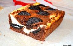 Tobulas pyragas su Oreo sausainiais