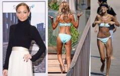 Nicole Richie ir vėl sveria vos 40 kilogramų
