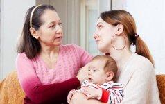 Įtempti moters ir anytos santykiai: ką patars specialistas