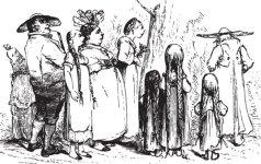 Koks buvo žmonių ūgis prieš 300 metų? Palyginkite su savo