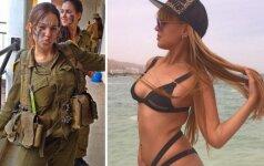 Štai kaip laisvalaikiu atrodo Izraelio kariuomenės merginos