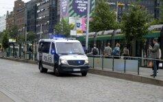 Išpuolio Suomijoje akimirka