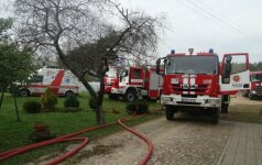 Трагедия в Алитусе: во время пожара погибли мать и сын