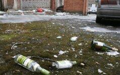 В Вильнюсе у нетрезвых родителей забрали четверых детей