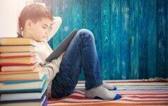 Pedagogės komentaras: kaip padėti vaikui pamėgti skaityti knygas