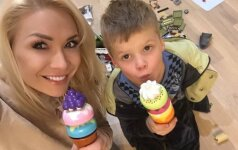 Natalija Bunkė: žaislai padeda sūnų lavinti ir motyvuoti