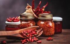 Vytinta paprika – skaniau net vytintus pomidorus