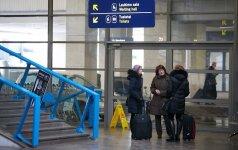Iš JAV į Vilniaus oro uostą grįžęs lietuvis nemaloniai nustebo: buvo gėda
