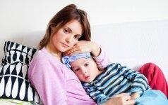 Jei užklupo kosulys: pirmoji pagalba namuose
