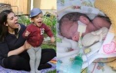 Giedrės gyvenimą pakeitęs gimdymas įkvėpė imtis naujos veiklos Lietuvoje