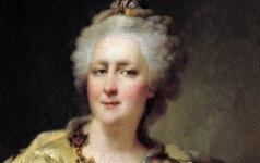 Jekaterina II – nimfomanė Rusijos imperatorienė, mirusi tualete