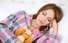 Keista, bet veiksminga: kaip užmigti per minutę