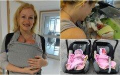 Gimdymas prasidėjo 26 nėštumo savaitę: gyvybė kabojo ant plauko