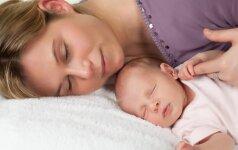 Tiesa ir mitai apie vaiko miegojimą vienoje lovoje su tėvais