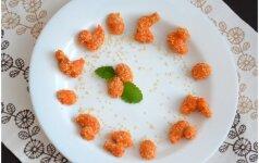 Nekepti morkų skanėstai zuikučiams ir vaikams mamos receptas