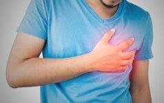 Širdies ligų simptomai, į kuriuos mes neatkreipiame dėmesio